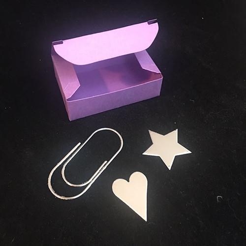 Paperclip Box die by InkyStamper