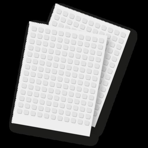 """Foam Squares - 1/4"""""""