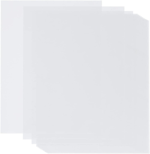 vellum card panels with no smear