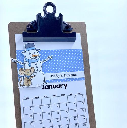 2021 InkyStamper Calendar Class Kit