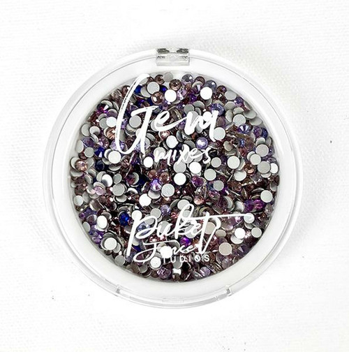 Purple Side of a Rainbow Gems by Picket Fence