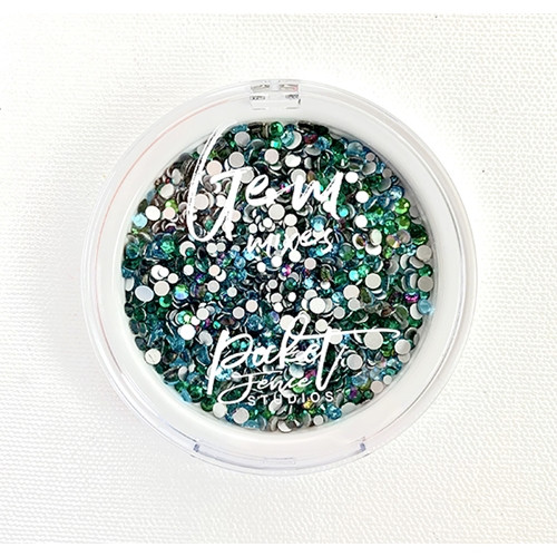 Oceans of Green Gems by Picket Fence
