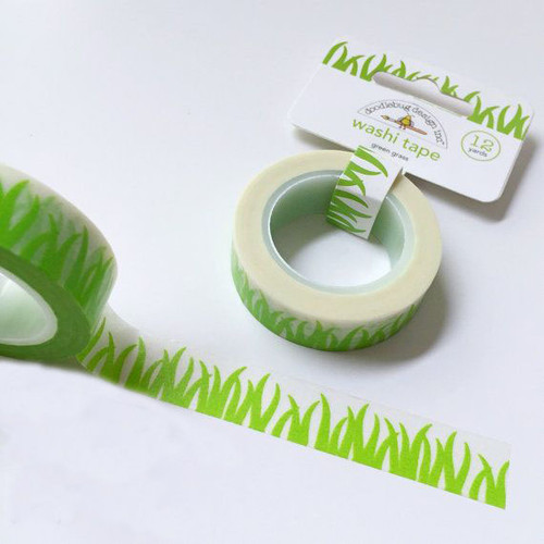 Doodlebug Grass Washi