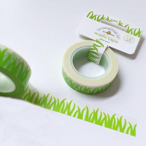 Doodlebug Grass Washi