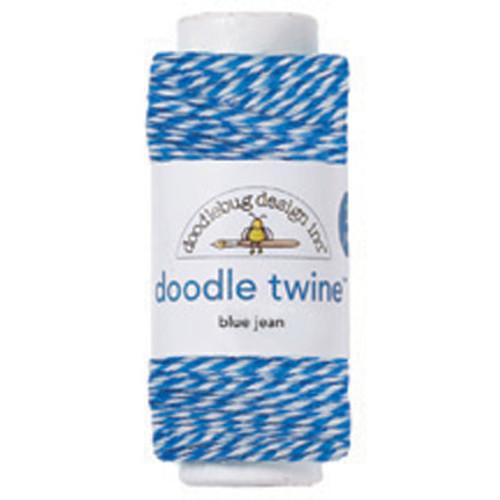 Blue Jean Doodle Twine by Doodlebug