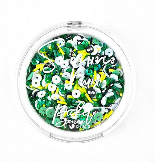Croak Sequins by Picket Fence