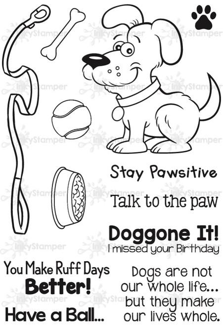 Dog Stamps by InkyStamper