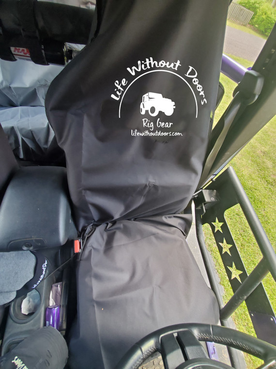 Waterproof Seat Poncho - Front Seat Set