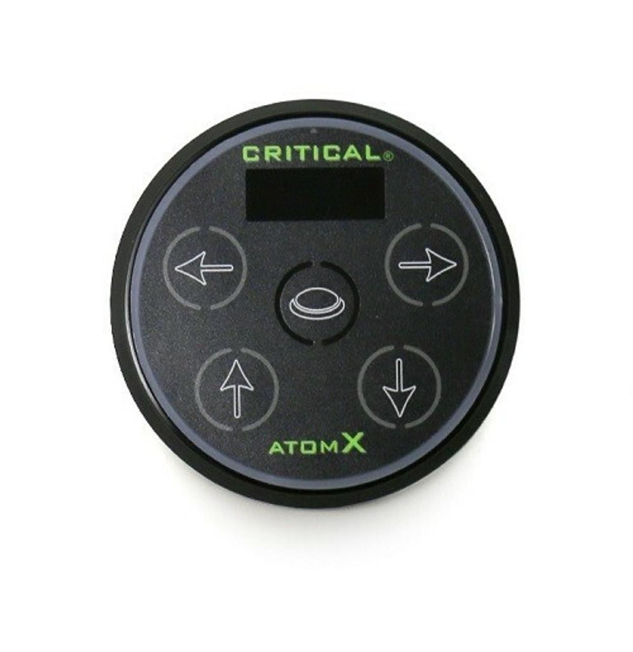 Critical Tattoo Atom X Power Supply - Black - Electrum Supply