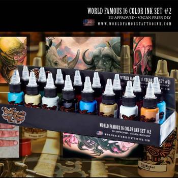 WORLD FAMOUS 16 COLOR INK SET #2