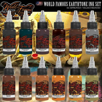Tattoo Inks - World Famous Ink - Page 1 - Electrum Supply