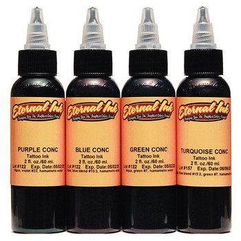 CONCENTRATES FOUR COLOR INK SET - ETERNAL