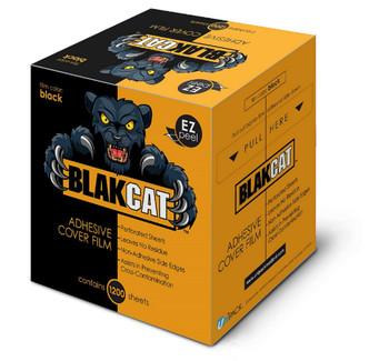 "Black Cat Barrier Film - 4"" x 6"" BLACK"