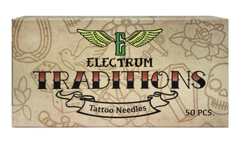 Electrum Traditions Needle - Textured Curved Magnum