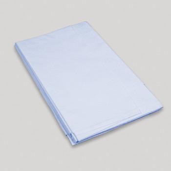 "Drape Sheet - Blue 40"" x 90"" 2 Ply - Case of 50"