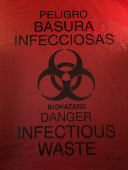 Biohazard Waste Disposable Bag Roll