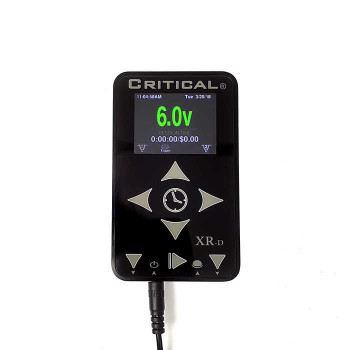 Critical Tattoo® XR-D Power Supply