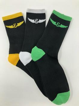Electrum Premium Crew Socks - 3 Pack