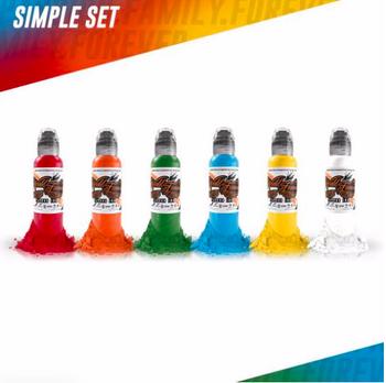 Simple Color Set - World Famous