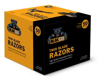 Black Cat Twin Blade Razors
