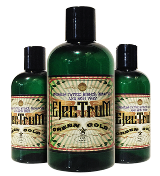 Electrum Premium Tattoo Skin Prep and Stencil Repositioner - 8 OZ. - CASE OF 48