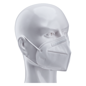 KN95 FACE MASK 5-PLY WITH ELASTIC EAR LOOP