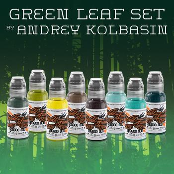 ANDREY KOLBASIN- GREEN LEAF SET