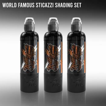 Sticazzi Black Shading Set - World Famous