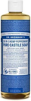 DR BRONNER'S PURE-CASTILE SOAP PEPPERMINT 16 OZ