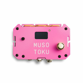 Musotoku Tattoo Power Supply — Special Edition Pink