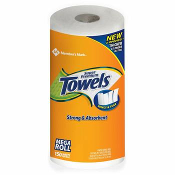 Member's Mark Select-A-Size Mega Roll Premium Paper Towels
