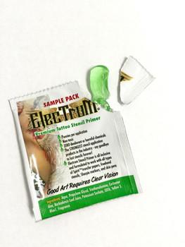 Electrum Premium Tattoo Stencil Primer Travel Packs - 25 PCS