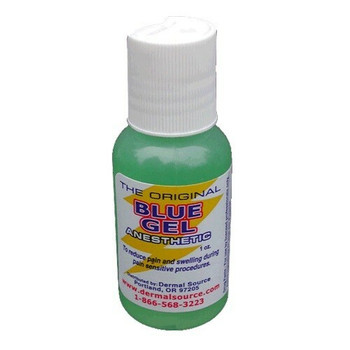 The Original Blue Gel Topical Anesthetic - 1oz Bottle
