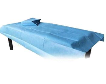 "Drape Sheet - Blue 40"" x 48"" 2 Ply - Case of 100"