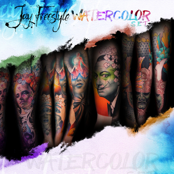 WORLD FAMOUS JAY FREESTYLE WATERCOLOR INK SET