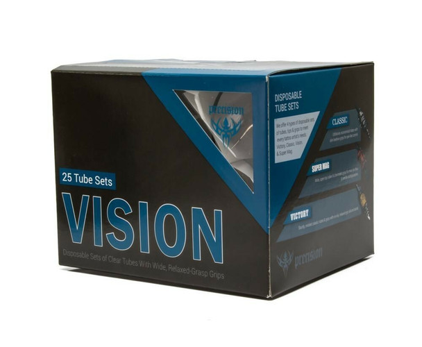 """Vision Tube & Grip Sets - 1"""" Premium Disposable Grips - Box of 25"""