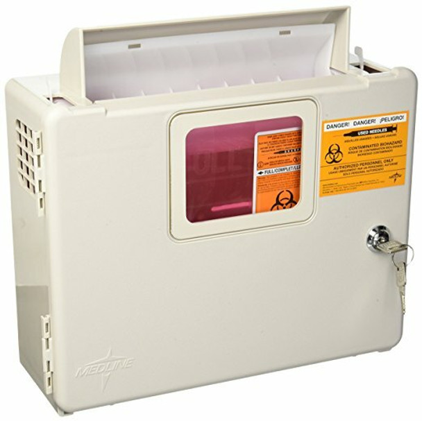 Kendall Wall Cabinet for 5Qt Sharps Container