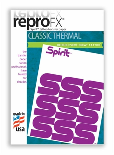 Spirit Classic Thermal Transfer Paper 8-1/2 x 11 - 100 Sheets