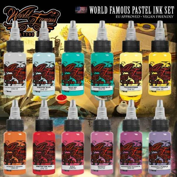 WORLD FAMOUS PASTEL INK SET