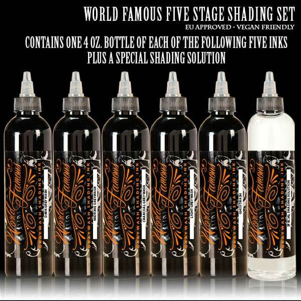 WORLD FAMOUS  5 FIVE-STAGE SHADING SET