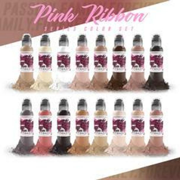 PINK RIBBON 16 COLOR SET - WORLD FAMOUS