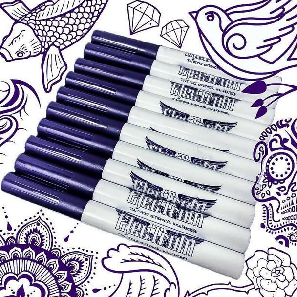 Electrum Tattoo Stencil Marker - Per 1 - BUY MORE AND SAVE!