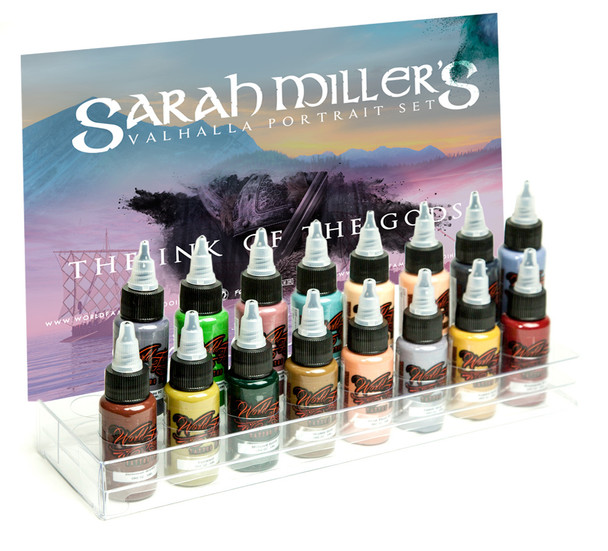 WORLD FAMOUS SARAH MILLER VALHALLA PORTRAIT SET