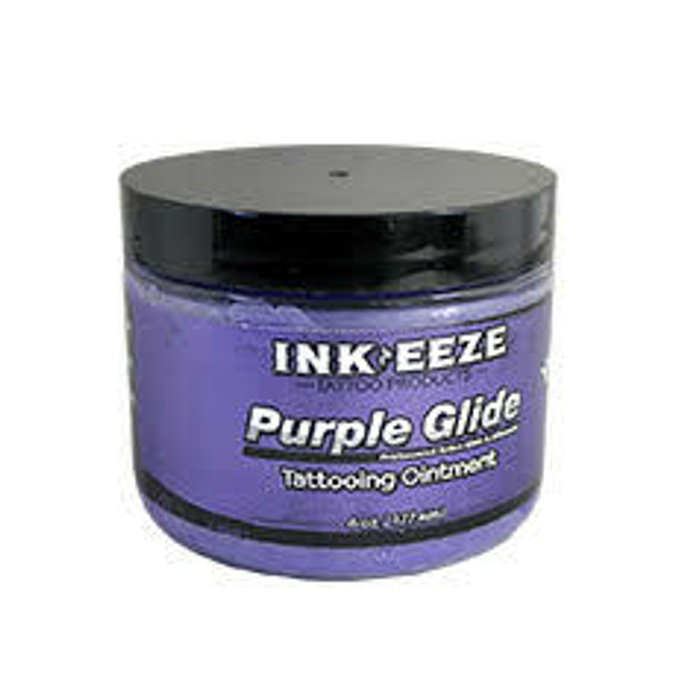 INK-EEZE Purple Glide Tattoo Ointment 6oz