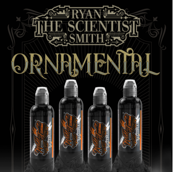 Ryan Smith's Ornamental Ink Set - World Famous