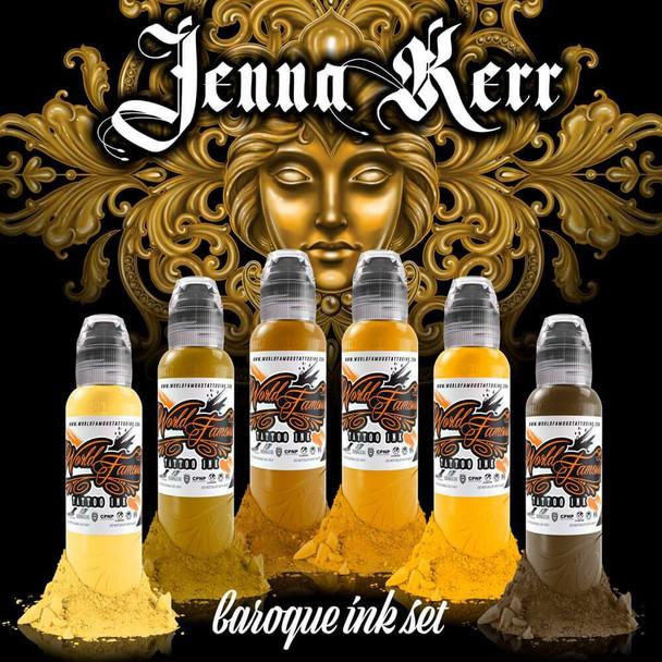 WORLD FAMOUS: JENNA KERR'S BAROQUE COLOR SET