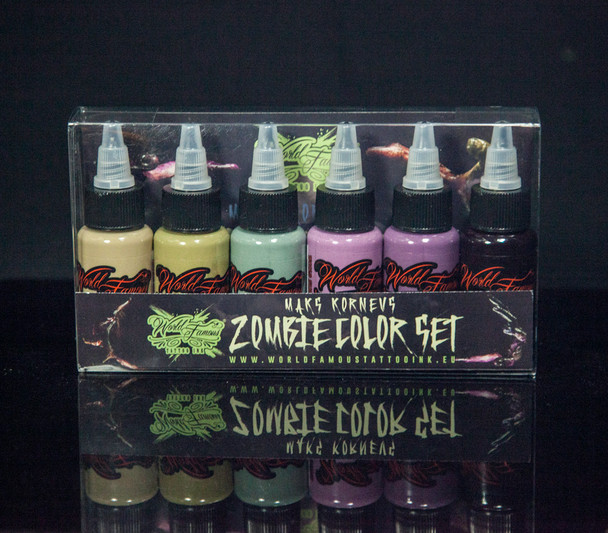 WORLD FAMOUS MAKS KORNEV'S ZOMBIE COLOR SET - 1 OZ
