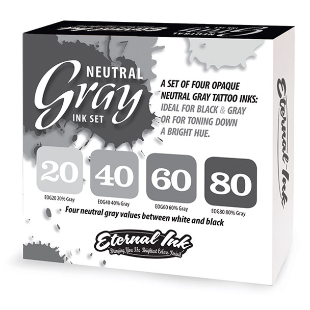 NEUTRAL GRAY SET - ETERNAL