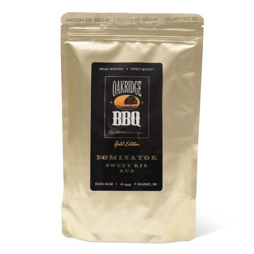 The sweetness of this rub, developed by the artful blending of raw cane sugar, honey, Vietnamese cinnamon & select exotic spices, is intoxicating and balanced perfectly by deep savory and subtly spicy notes. Dominator excels on pork ribs, and any other cut of pork or chicken.