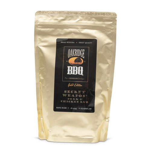 Rich, complex and savory with just the right amount of heat balanced by a touch of sweetness are the hallmarks of this rub. This All Natural rub pairs exceptionally well with all cuts of chicken and pork, either grilled hot & fast or smoked slow & low.